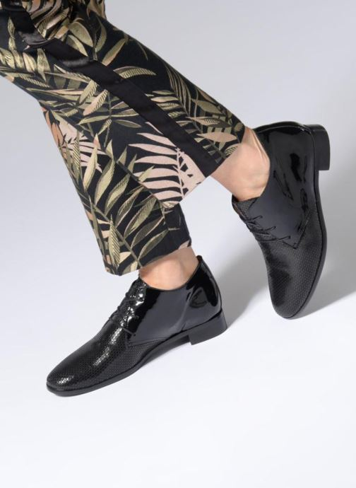 Lace-up shoes Karston Jovini Black view from underneath / model view