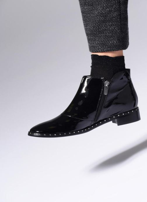 Bottines et boots Karston Jaxin Noir vue bas / vue portée sac
