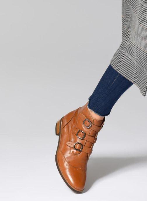 Bottines et boots Karston Jiloto Noir vue bas / vue portée sac