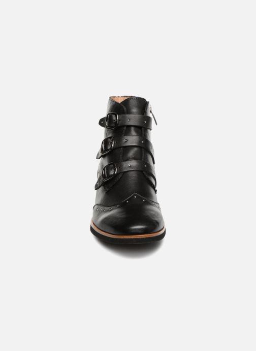Bottines et boots Karston Jiloto Noir vue portées chaussures