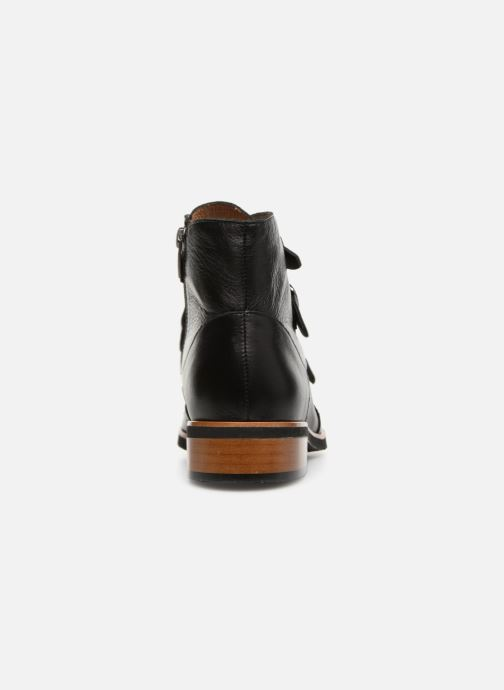 Ankle boots Karston Jiloto Brown view from the right