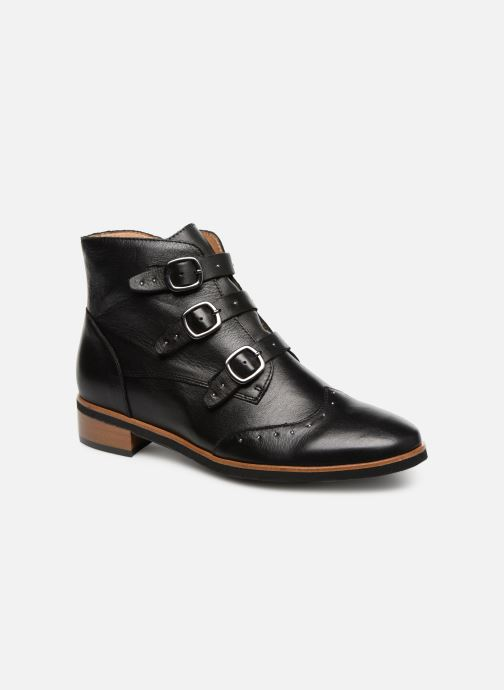 Ankle boots Karston Jiloto Brown detailed view/ Pair view