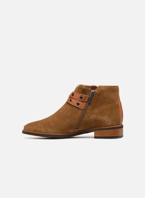Bottines et boots Karston Jiopo Marron vue face