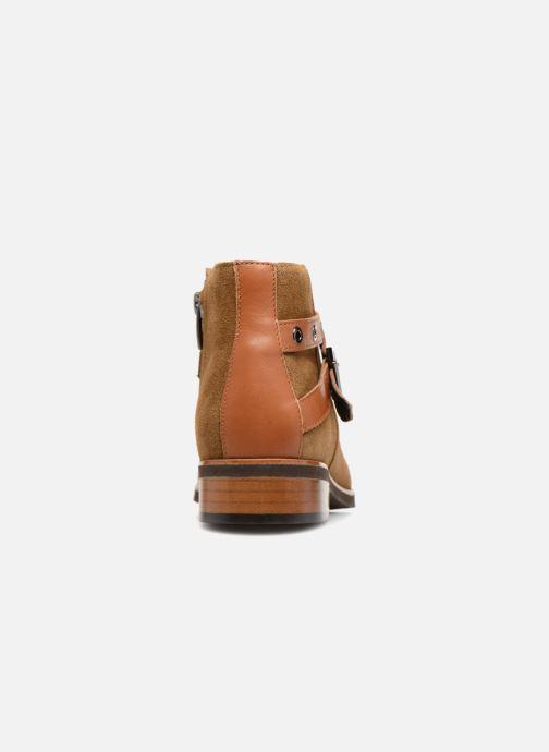 Bottines et boots Karston Jiopo Marron vue droite