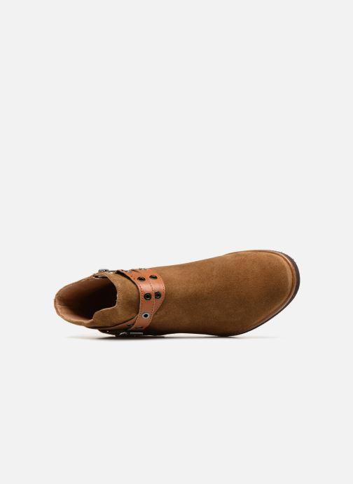 Bottines et boots Karston Jiopo Marron vue gauche