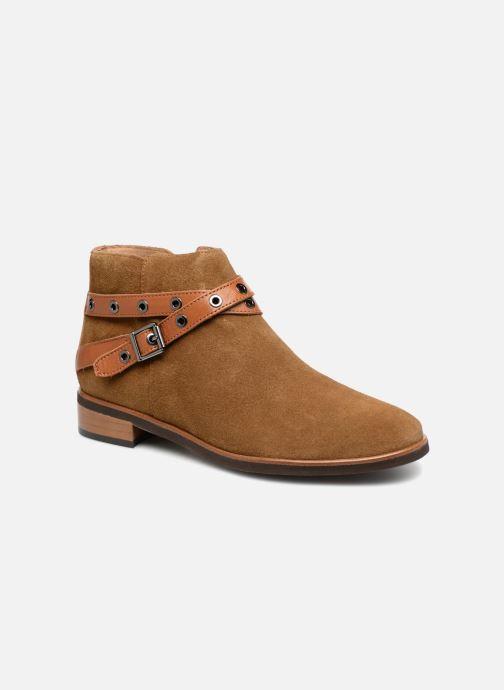 Bottines et boots Karston Jiopo Marron vue détail/paire