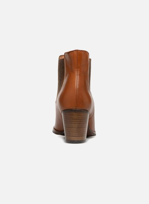 Ankle boots Karston Glones Brown view from the right