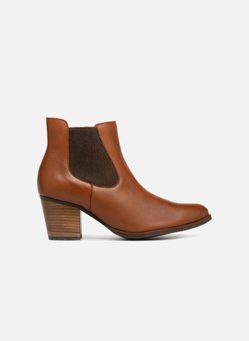 Ankle boots Karston Glones Brown back view