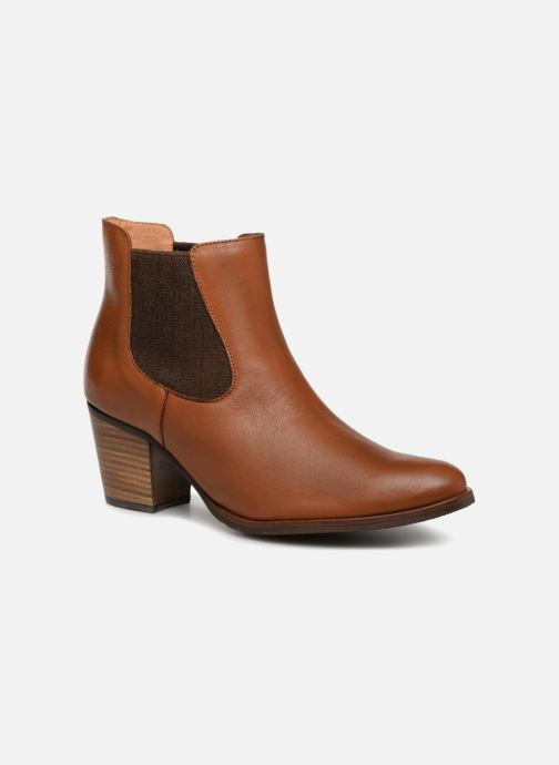 Ankle boots Karston Glones Brown detailed view/ Pair view
