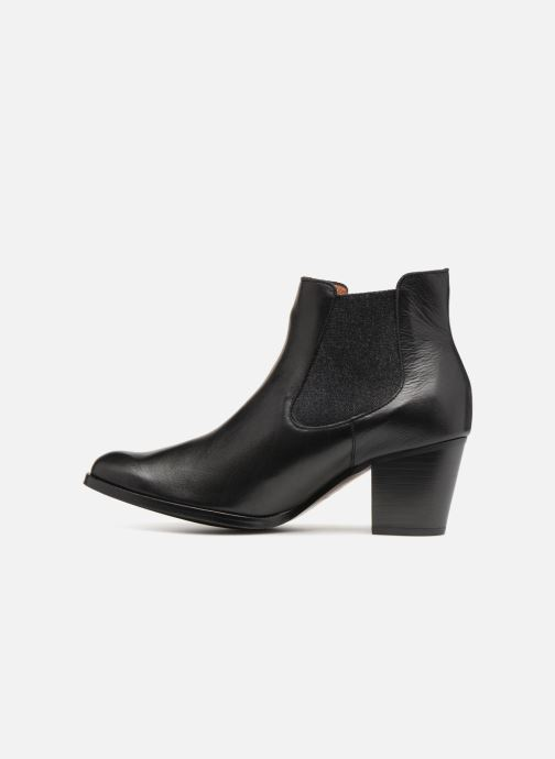 Bottines et boots Karston Glones Noir vue face