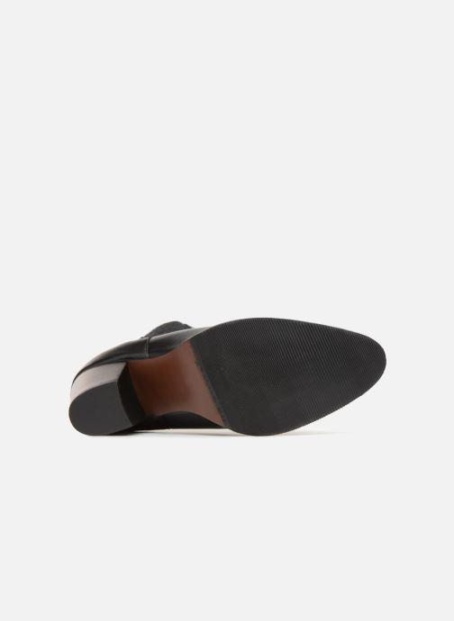 Bottines et boots Karston Glones Noir vue haut