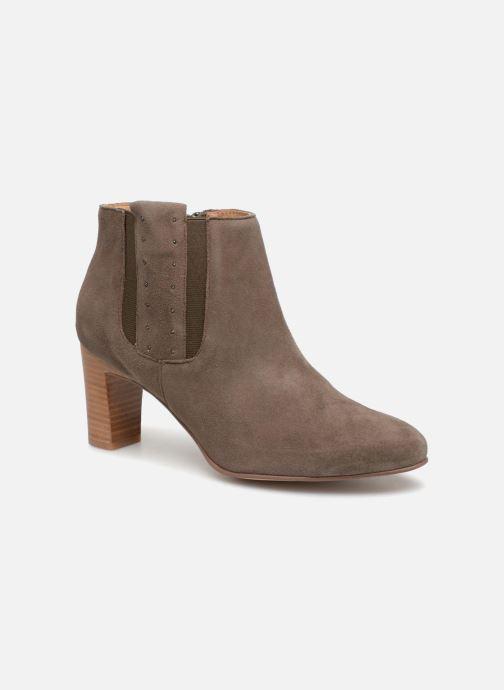 Boots en enkellaarsjes Karston Iloti Groen detail