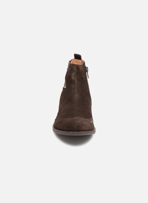 Bottines et boots Karston Aclou Noir vue portées chaussures