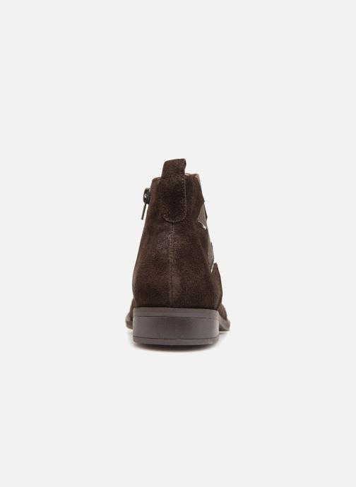 Bottines et boots Karston Aclou Noir vue droite