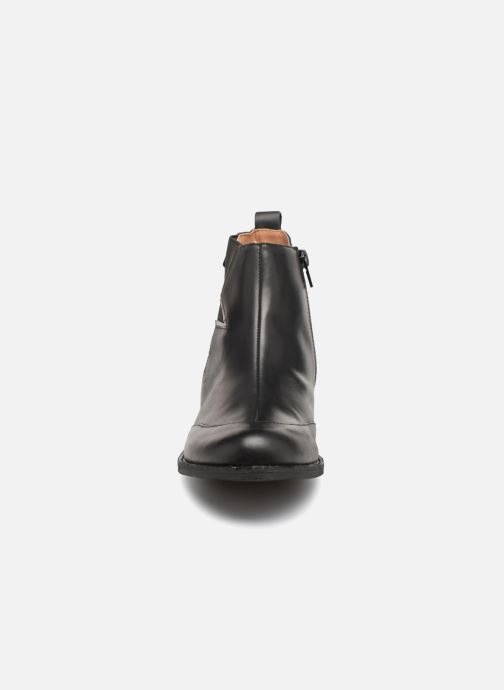Ankle boots Karston Aclou Black model view