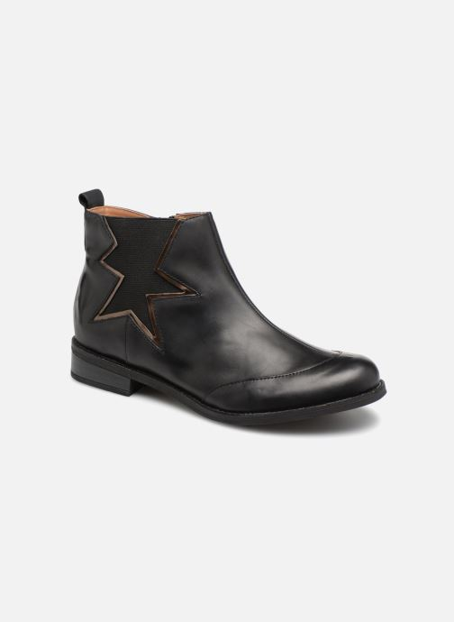 Ankle boots Karston Aclou Black detailed view/ Pair view