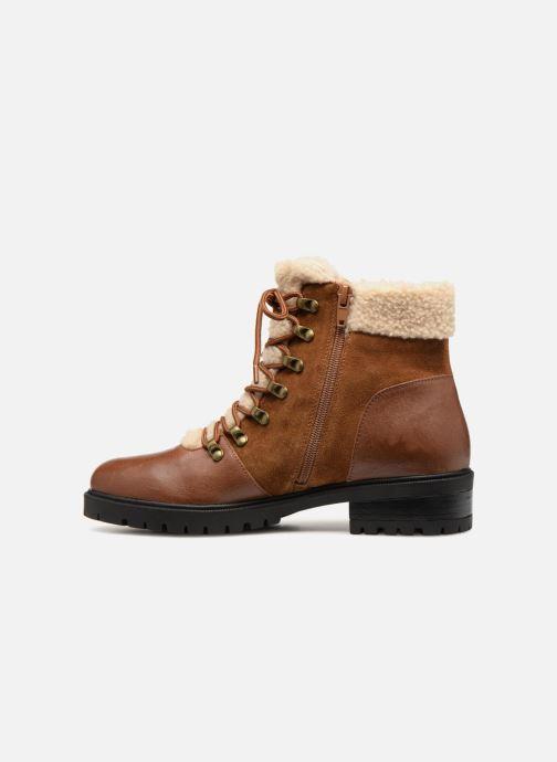 Bottines et boots Karston Ambre Marron vue face