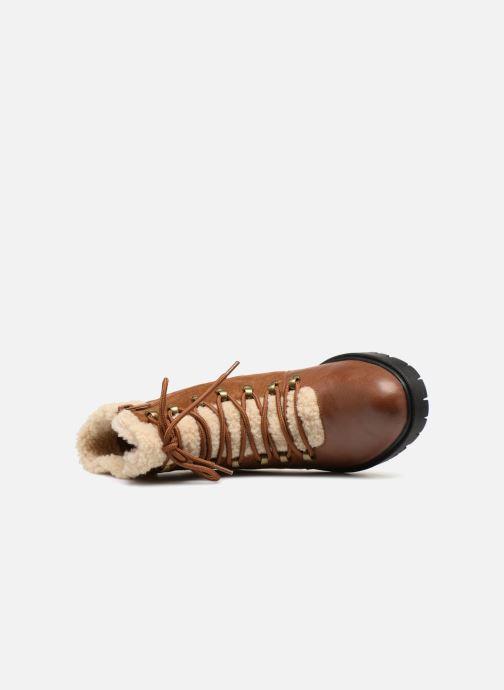 Bottines et boots Karston Ambre Marron vue gauche