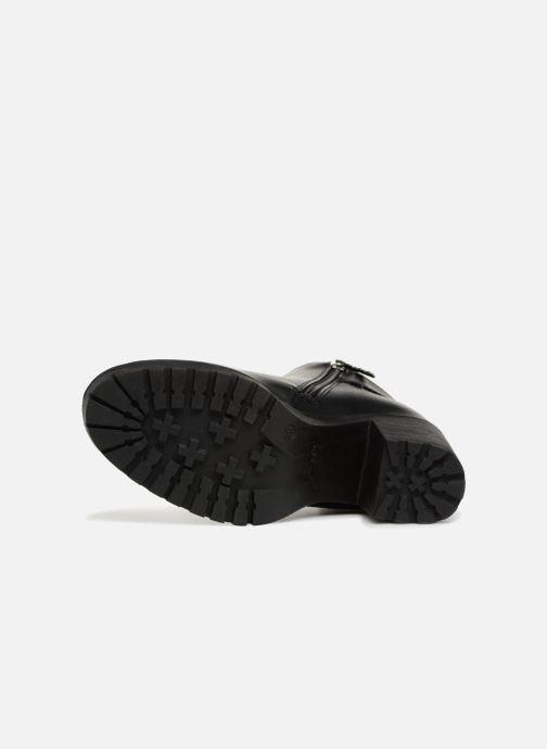 Stiefeletten & Boots Refresh 64697 schwarz ansicht von oben