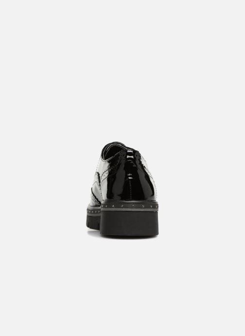 Zapatos con cordones Refresh 64677 Negro vista lateral derecha