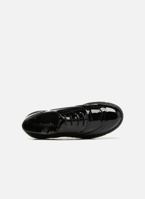 Zapatos con cordones Refresh 64677 Negro vista lateral izquierda