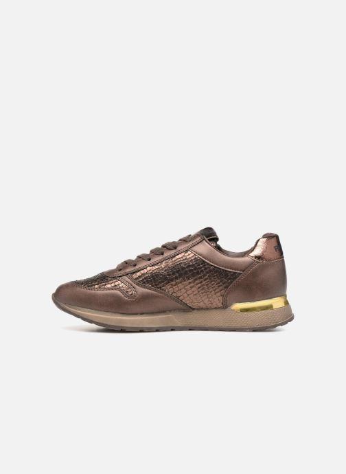Sneaker Refresh 64645 gold/bronze ansicht von vorne