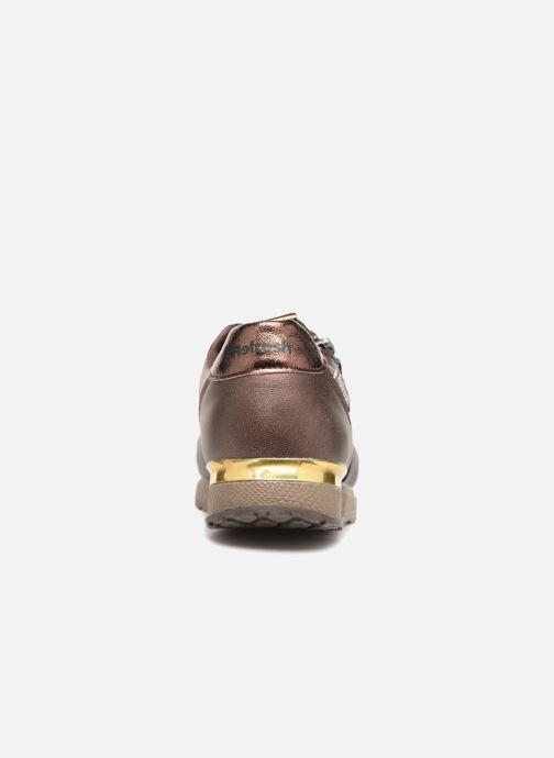 Sneaker Refresh 64645 gold/bronze ansicht von rechts