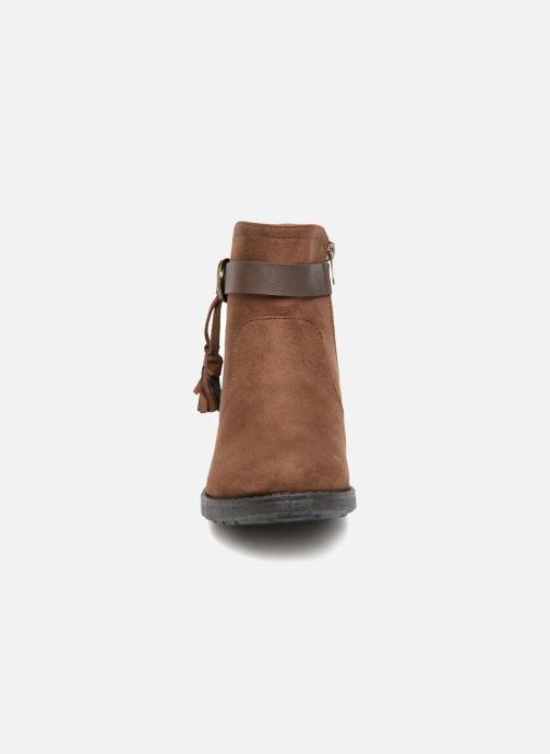 Bottines et boots Refresh 64726 Marron vue portées chaussures