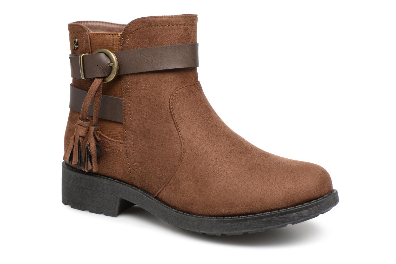 f4a8a59ab502 Ankelstøvler Refresh 64726 Brun detaljeret billede af skoene