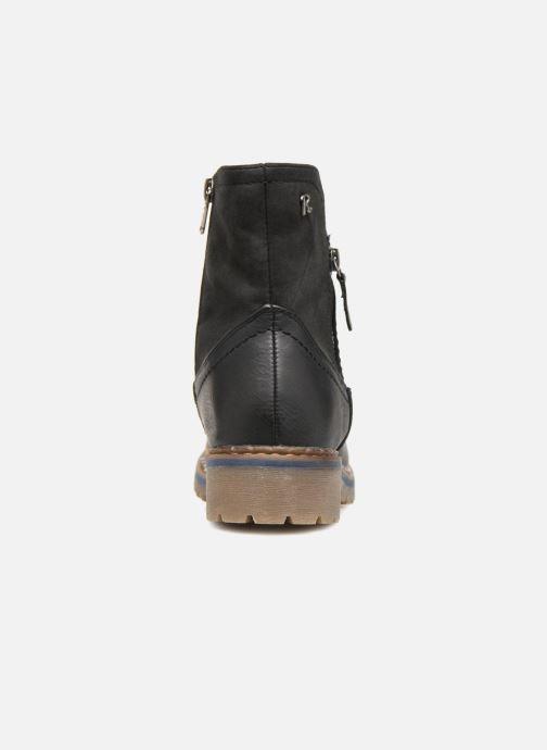 Stiefeletten & Boots Refresh 64811 schwarz ansicht von rechts
