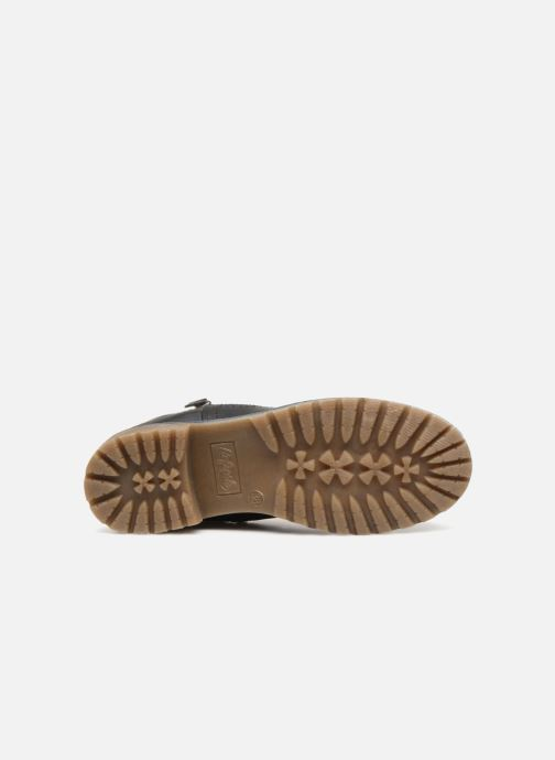 Stiefeletten & Boots Refresh 64811 schwarz ansicht von oben
