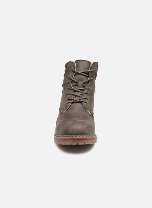 Bottines et boots Refresh 64671 Marron vue portées chaussures