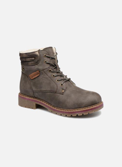 Bottines et boots Refresh 64671 Marron vue détail/paire