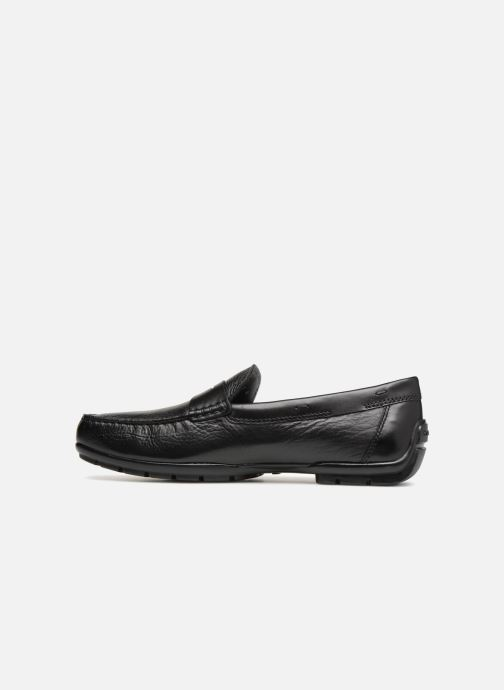 Mocassins Geox U MONER W 2FIT D V44Q6D Noir vue face