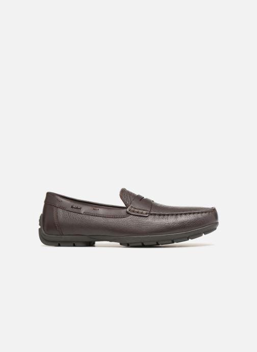 Loafers Geox U MONER W 2FIT D V44Q6D Brown back view