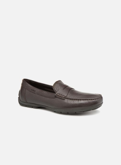 Loafers Geox U MONER W 2FIT D V44Q6D Brown detailed view/ Pair view