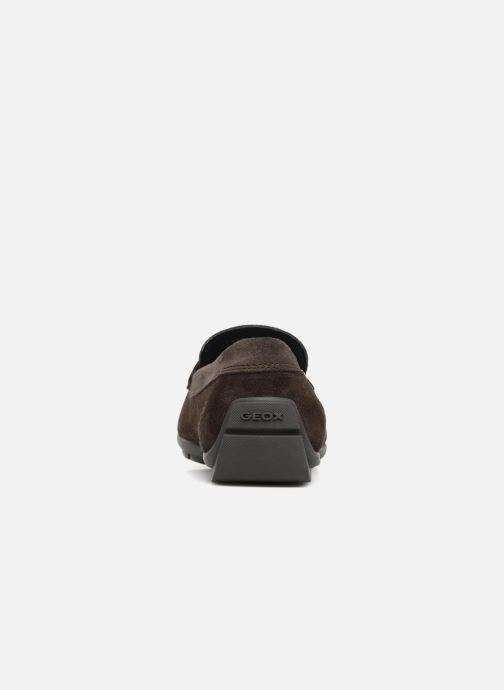 Mocassins Geox U MONER W 2FIT D U44Q6D Marron vue droite