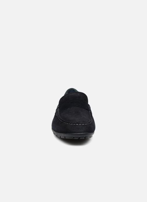 Mocassins Geox U MONER W 2FIT D U44Q6D Bleu vue portées chaussures