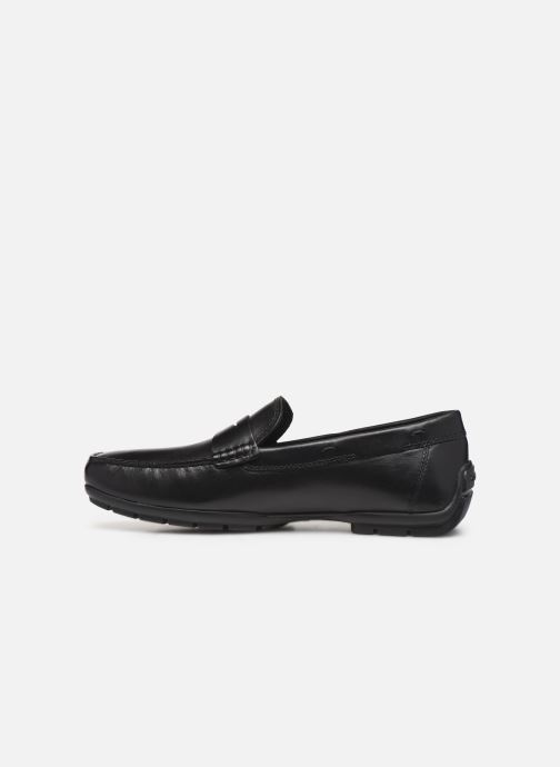 Loafers Geox U MONER W 2FIT D U44Q6D Black front view