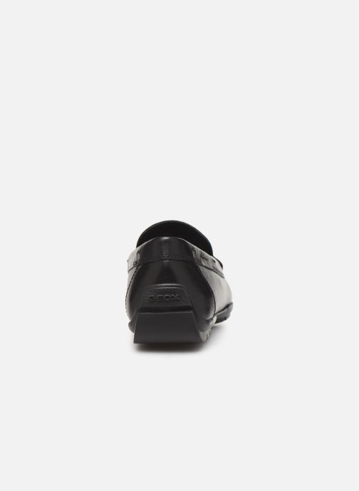 Loafers Geox U MONER W 2FIT D U44Q6D Black view from the right