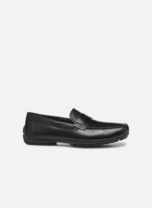 Loafers Geox U MONER W 2FIT D U44Q6D Black back view