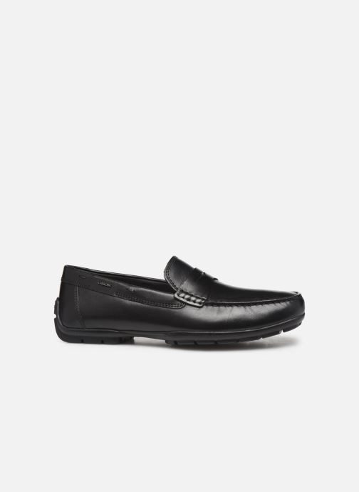 Loafers Geox U MONER W 2FIT D U44Q6D Black back view