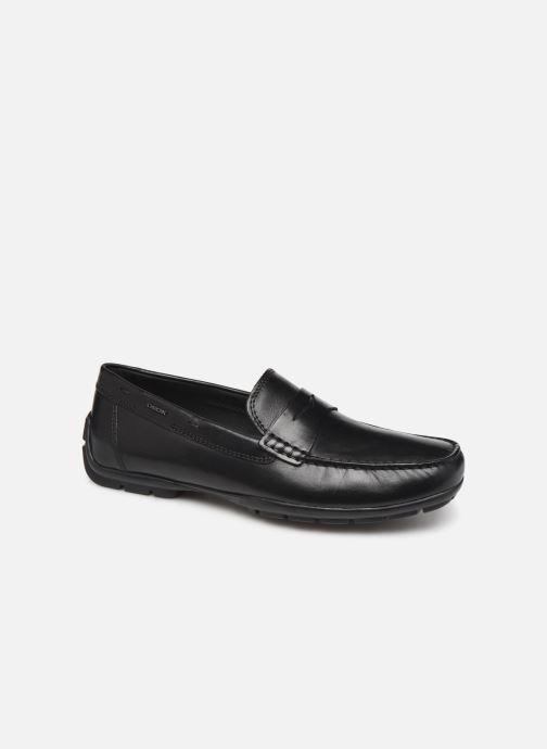 Loafers Geox U MONER W 2FIT D U44Q6D Black detailed view/ Pair view