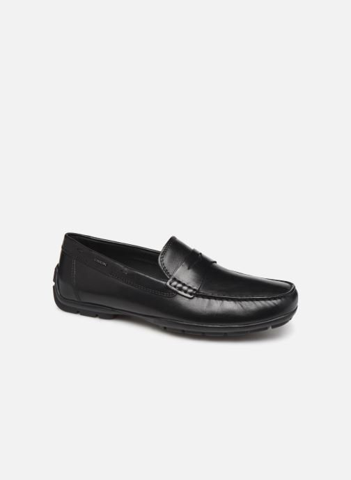 Loafers Geox U MONER W 2FIT D U44Q6D Black detailed view/ Pair view