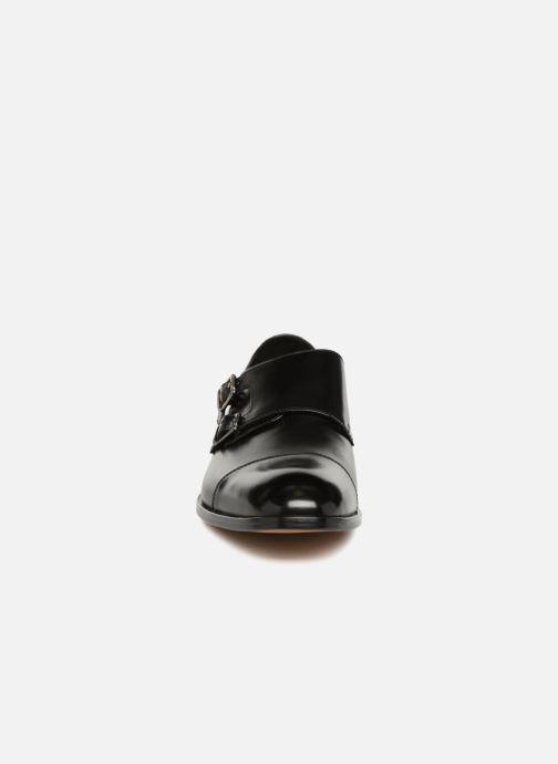 Mocassins Geox U SAYMORE E U825LE Noir vue portées chaussures