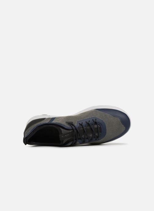 Sneaker Geox U NEBULA X A U826BA blau ansicht von links