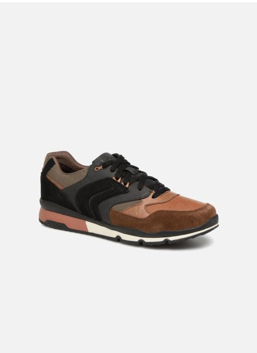 Trainers Geox U SANDFORD A U84A6A Brown detailed view/ Pair view