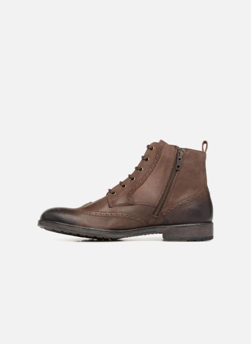 Ankle boots Geox U JAYLON G U84Y7G Brown front view