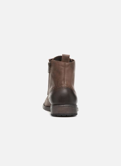 Ankle boots Geox U JAYLON G U84Y7G Brown view from the right