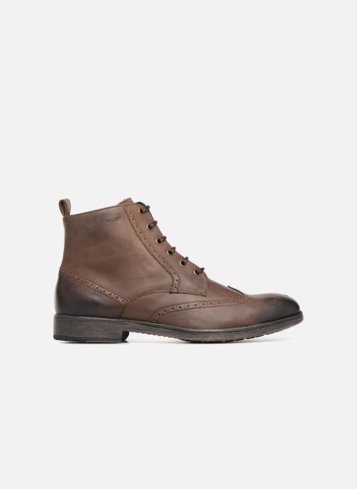 Ankle boots Geox U JAYLON G U84Y7G Brown back view